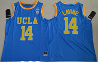 best basketball colleges - UCLA Bruins Zach LaVine College Basketball Authentic Jersey Material Rev Basketball jersey Best quality Embroidery Logos Size S XXL