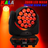 Wholesale LED Best Seller DJ Lighting degrees X12W RGBW in1 LED Moving Head Zoom Beam Wash Light