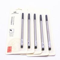 al por mayor jinhao bolígrafos rollerball-Venta al por mayor- Tarjeta de Lujo Advanced Jinhao 5pcs tinta Negro recarga Rollerball Pen Nuevo