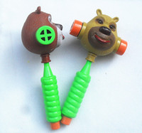Wholesale Bear ring hammer Baby bears send sound BB hammer hammer knock creative toys
