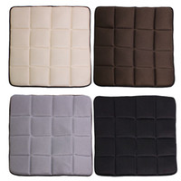 bamboo seat mat - 1pcs New Bamboo Charcoal Breathable Seat Cushion Cover Pad Mat for Interior car Accessories