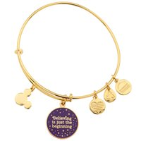 american just - Original bangles Alex And Ani Russian silver gold Believing is just the beginning bangles bracelets Men bangles copper bangles mesh bracelet
