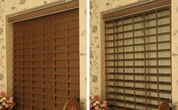 Wholesale pane design shangri la triple shade zebra blinds