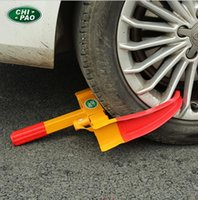 trailer wheel lock - Wheel Clamp Lock Cars Trailer Caravan Security Anti Theft Car Locking Heavy Duty