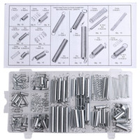 Wholesale 200PCS set Practical Metal Tension Compresion Springs Assortment In Sizes