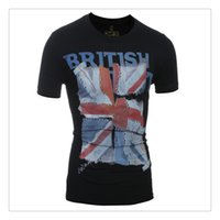 american flag shorts for men - T shirts for Men Fashion British Style Flag Printing Men s Casual O neck Short Sleeves Brand Summer T shirts US Size XS L