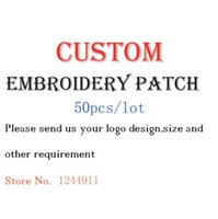Wholesale Custom Embroidery Patch DIY pieces fashionable mixed assorted clothing Applique garment patches