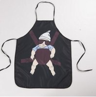 Wholesale Cartoon Aprons Super daddy Funny Aprons wedding gift Sexy Aprons cooking party Christmas gift Apron cm