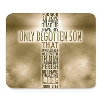 beautiful mouse pads - nspirational Christian Bible Verse Faith Scripture Quotes Beautiful Best Gift Art Pattern Design Unique Custom Rectangle Mouse Pad Gaming No