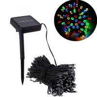 animal house setting - Solar LED Christmas Lights String Fairy Shinning Lights Romantic Wedding Party Home Decor Decoration LED Flash Fancy Light with Solar Panel