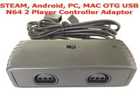 Wholesale STEAM Android PC OTG USB N64 Player Controller Adaptor