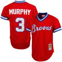 Wholesale Men s Atlanta Braves jerseys Dale Murphy jersey Authentic Cooperstown Collection Mesh Batting Practice throwback baseball jerseys