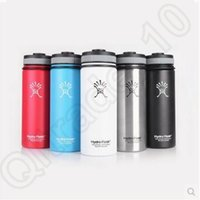 Wholesale Hydro Flask Wide Mouth Bottle oz oz oz Stainless Steel Coolers Insulation Cup Cars Beer Mug Hydro Flask Tumblers CCA5595