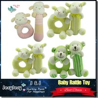 baby crib bedding boys - Baby Toys For Newborn Baby Rattles Ring Bell Babies Boy Girl Plush Rabbit Crib Bed Hanging Animal Dolls Infant Stroller