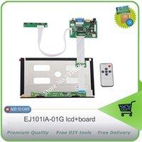 Wholesale Inch pins RGB TFT EJ101IA G LCD Screen Display With Remote Driver Control Board AV HDMI VGA for Raspberry Pi