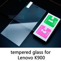 Cheap Glossy Frosted Matte Anti glare Tempered Glass Protective Film Screen Protector For Lenovo K900 Lenovo Lemon 3 K32c36 K32c30 Lenovo P780