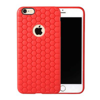 beehive design - Saiboro Light Soft Beehive Case for iPhone Plus Samsung S6Edge S5 Note Honeycomb Cute Design Shock Buffer Anti knock TPU Phone Cases