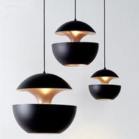 Wholesale E27 vintage pendant lights loft retro lampara industries lustres Lamp copper light for living room bar cafe restaurant lighting