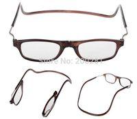 Wholesale HOT SALE Folding Reading Glasses Magnets Magnifying Reading Glasses Magnetic Front Connect Unisex Eyeglasses Hang Folding Quality Reader