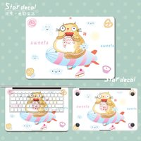 Wholesale Cute mouse Vinyl Front Cover Laptop decal Protective Film macbook sticker For Apple Macbook Air Pro Retina inch