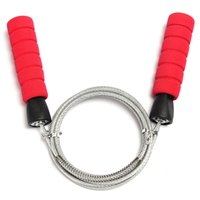 Wholesale New Hot selling Adjustable Steel Speed Jump Rope Cable Wire Skipping Rope Sports Fitness Entertainment