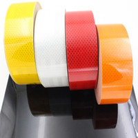 Wholesale Meter DIY Fluorescent Reflective Sticker Automobile luminous strip car motorcycle Decoration Sticker Car Styling Universal Cars Motorcycle S
