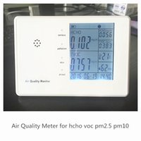 Wholesale indoor air quality monitor High Performance Laser Airborne Particle Counter PM2 Air Quality Monitor