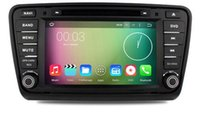 auto navigation units - Android octa core core HD car dvd player for Skoda Octaiva radio auto navigation g wifi tape recorder head units