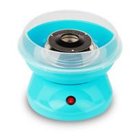 Wholesale 220V w Mini DIY Children Cotton candy machine Fully automatic household Metal PP x25x18cm