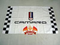 Wholesale winchester banner camaro black flag X150CM size polyster