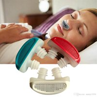Wholesale Anti Snore Nose Clip Breathe Easy Care Relieve Snoring Aid Apparatus New Sale