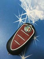 alfa mito - 2pcs GTO Mito Giulietta Remote Key Shell Blank Cover For Alfa Romeo Button Car Modified Filp Fob Key Case