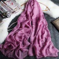 big long scarf - 180cm cm silk chiffon scarf long and big scarf thin and soft