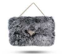 apple cover chain - Luxury Lady Phone Wallet Case Fox Head Fluffy Lazy Rabbit Hair Bling Flip Leather Card Holder Cover With Chain For Iphone s plus plus