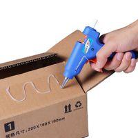 Wholesale Car Repair Tools EU Plug Pistola quente For DIY Professional High Temp Heater W Hot Melt Glue Gun With pc Glue Stick