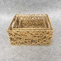 antique wicker - wall flower baskets hand woven wall hanging wicker basket hanging basket wicker storage basket fashionable