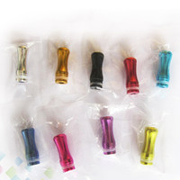 alloy drip - Colorful Atomizer Drip Tips Aluminium alloy Mouth Drops for VIVI NOVA Atomizers DHL Free
