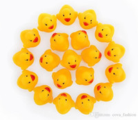 bath set items - Small Baby Bath Water Duck Toy B B Sounds Mini Yellow Rubber Ducks Bath Duck Toy Children Swiming Beach Gifts