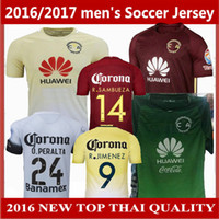 Soccer america shipping - FREE Ship mexico club america D BENEDETTO R SAMBUEZA O PERALTA soccer jerseys home away rd Top Quality football shirts