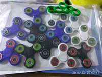 Wholesale 2017 Hot Toy EDC Hand Spinner Fidget Toy Good Choice For decompression anxiety Finger Toys For Killing Time Free DHL