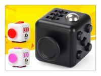 Holiday toys  1PCS Novelty Fidget Cube Stress Relief Toys 14 colors for kids and adults Decompression stress ball wisdom Children Christmas Gift
