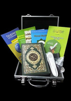 Wholesale holy quran read pen Quran pen Reader Pen Koran Player gb FQ15 Metal box digital word by word