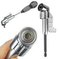 adjustable hex wrench - 105 Degree Inch Adjustable Hexbit Angle Driver Electric Screwdriver Magnetic Bit Wrench Hex Bit Drive Offset Attachment