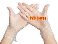 beauty therapist - 100pcs PVC rubber Disposable gloves for beauty health oral massage therapist