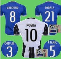 Wholesale Best quality Send Free Juventuses jerseys pogba DYBALA HIGUAIN buffon pogba DYBALA HIGUAIN