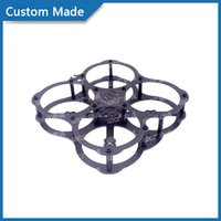 Wholesale Carbon fiber board RX122 UAV remote control anticollision indoor UAV frame Mini traversing machine mini Unmanned frame custom made
