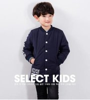 Wholesale The child of new boys in the autumn and winter coat thick cotton padded children children s wear brand new