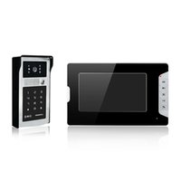 alloy video - New product Villa video door phone with password and ID card unlock quot color screen alloy case