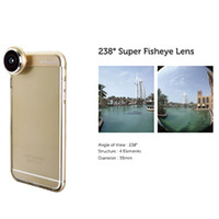 best telephoto lens - 3 In Mobile Phone Camera Lens Fish Eye Telephoto Wide Angle For iPhone iPhone6 plus fisheye Best Quality iPhone TPU case