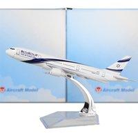Wholesale Israel Airways Boeing cm Arplane Child Airplane Models Toys Birthday Christmas Gift For Mens